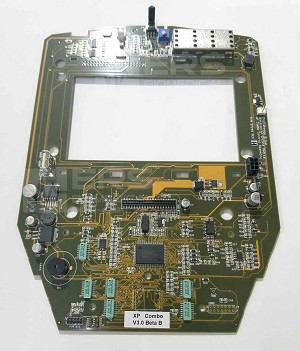 Intellect transport LCD PCB 27249